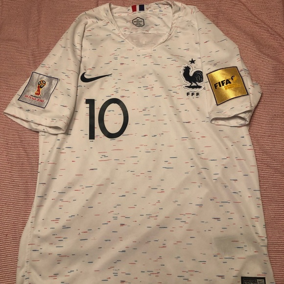 low cost c6e60 82d50 Kylian Mbappe France Away World Cup Kit